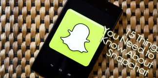 15 Things You Need to Know About Snapchat
