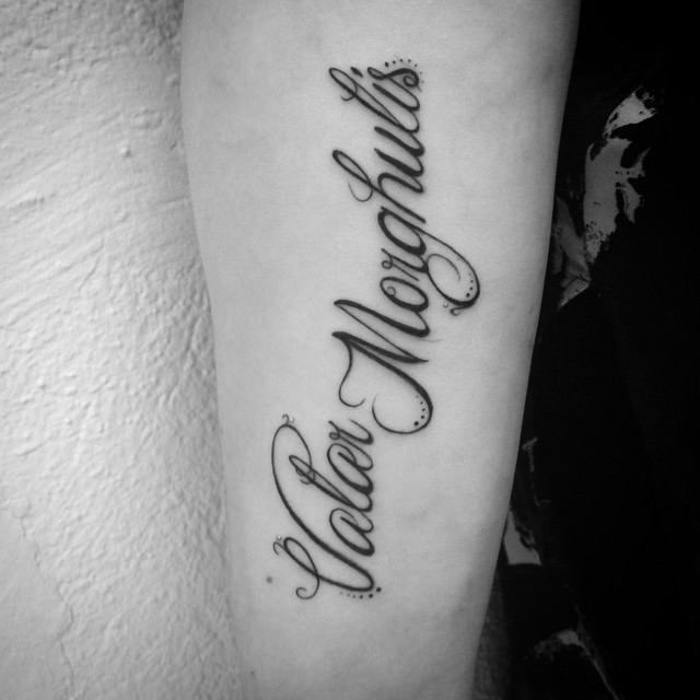 Game of Thrones tattoo 4