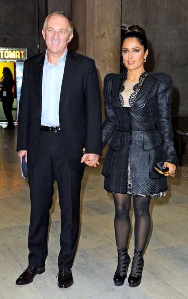 Salma Hayek and Francois Henri Pinault - $15 billion