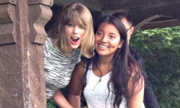 Taylor Swift fan Central Park