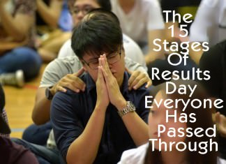 The 15 Stages Of Results Day