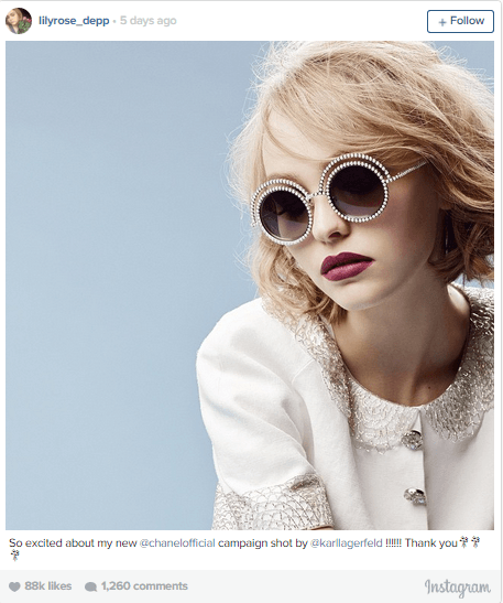 Lily-Rose Depp - Chanel