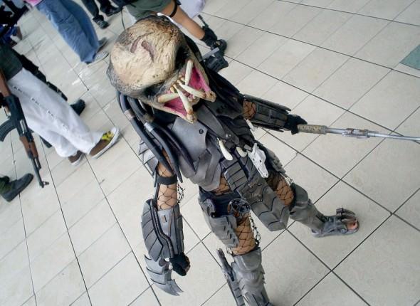 Robocop Costume Kid Robocop Star Joel Kinnaman Barreled The Camera