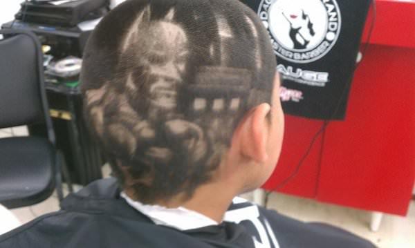 batman kid haircut
