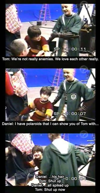 daniel radcliffe perfect tom felton