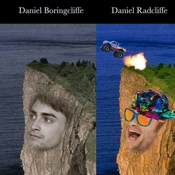 daniel radcliffe perfect meme