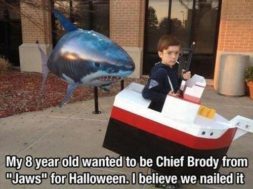 jaws cosplay Chief Brody