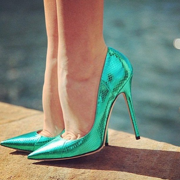 mermaid heels