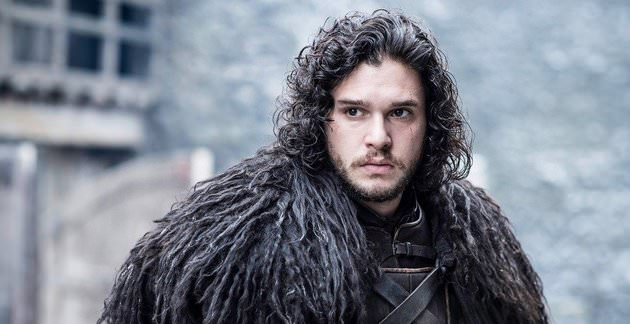 Jon Snow as portrayed by Kit Harington in the HBO adaption of Game of Thrones