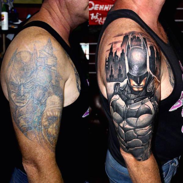 batman tattoo sleeve