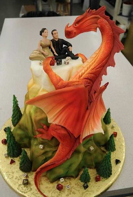 geeky wedding cakes