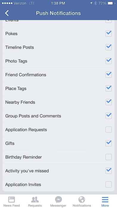facebook tips for users