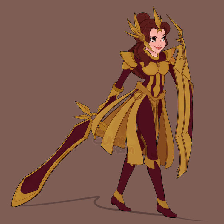 disney princesses as league of legends champions