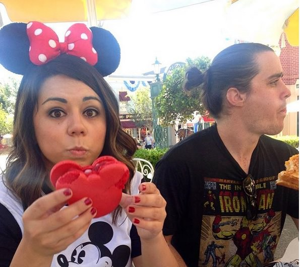 man buns of disneyland