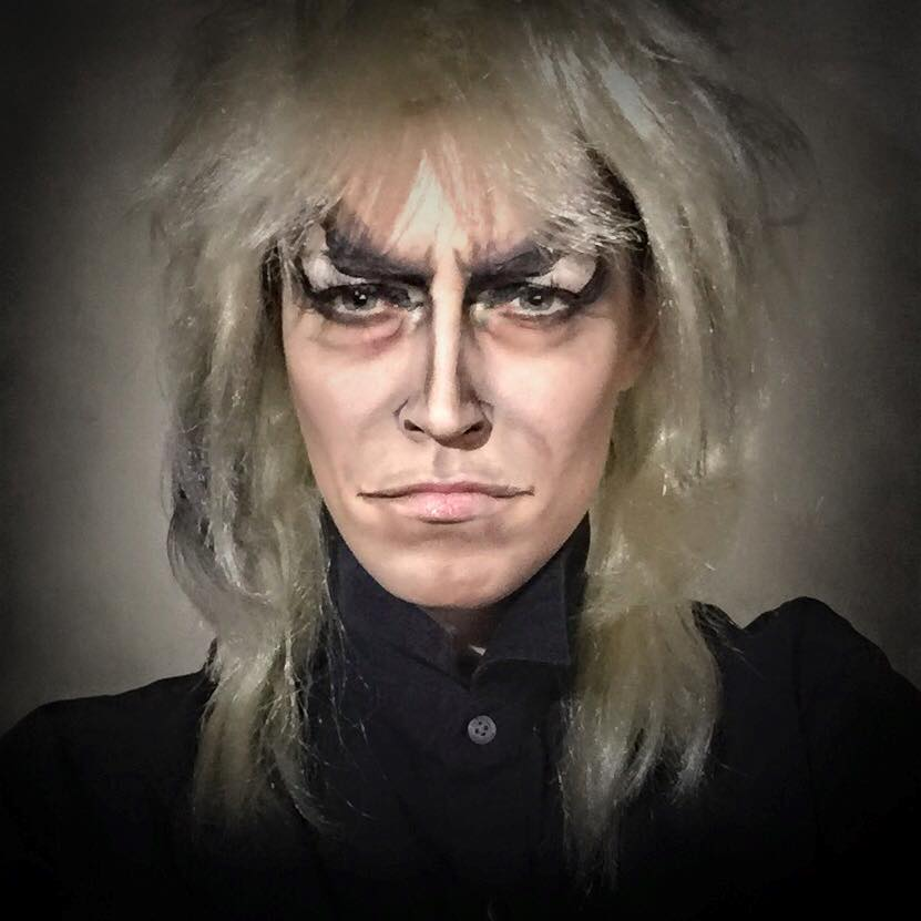 Rebecca Swift as Lord Jareth from Labyrinth