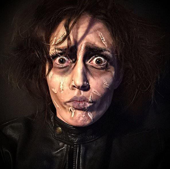 Rebecca Swift as Edward Scissorhands