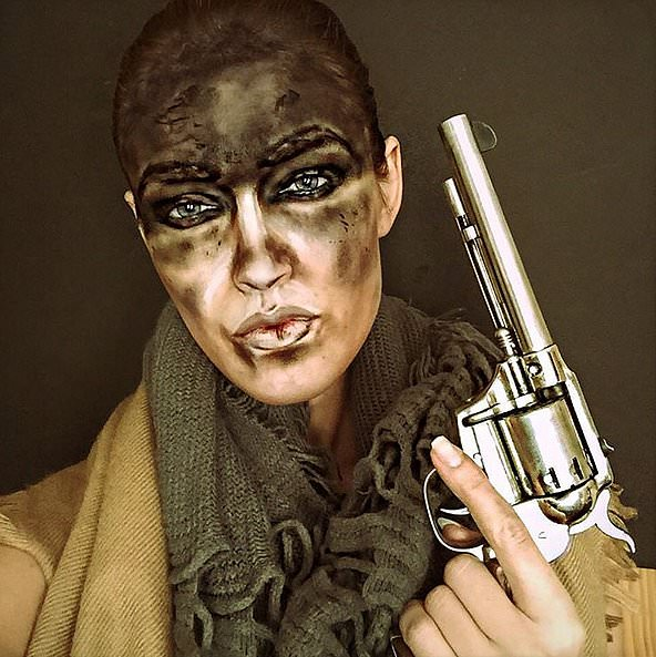 Rebecca Swift as Furiosa From Mad Max