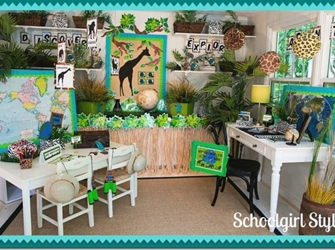 Beautiful Classroom Decoration Ideas ~ Amazing themed classrooms that will inspire any student
