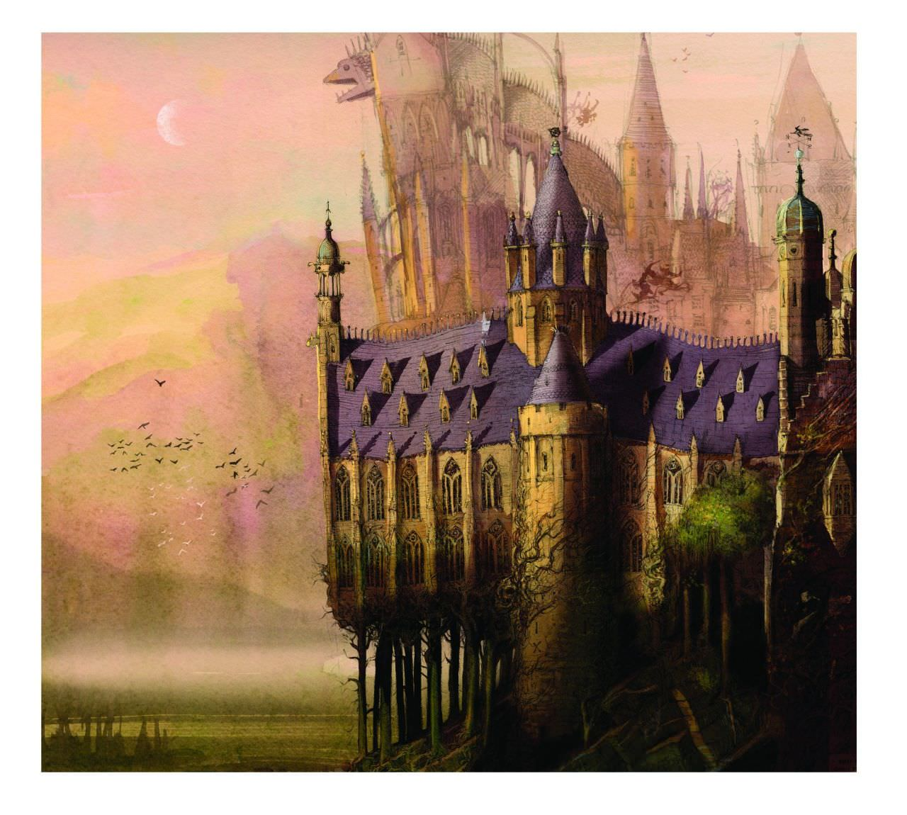 Harry Potter Book Jim Kay : After seeing these gorgeous pictures from the new harry