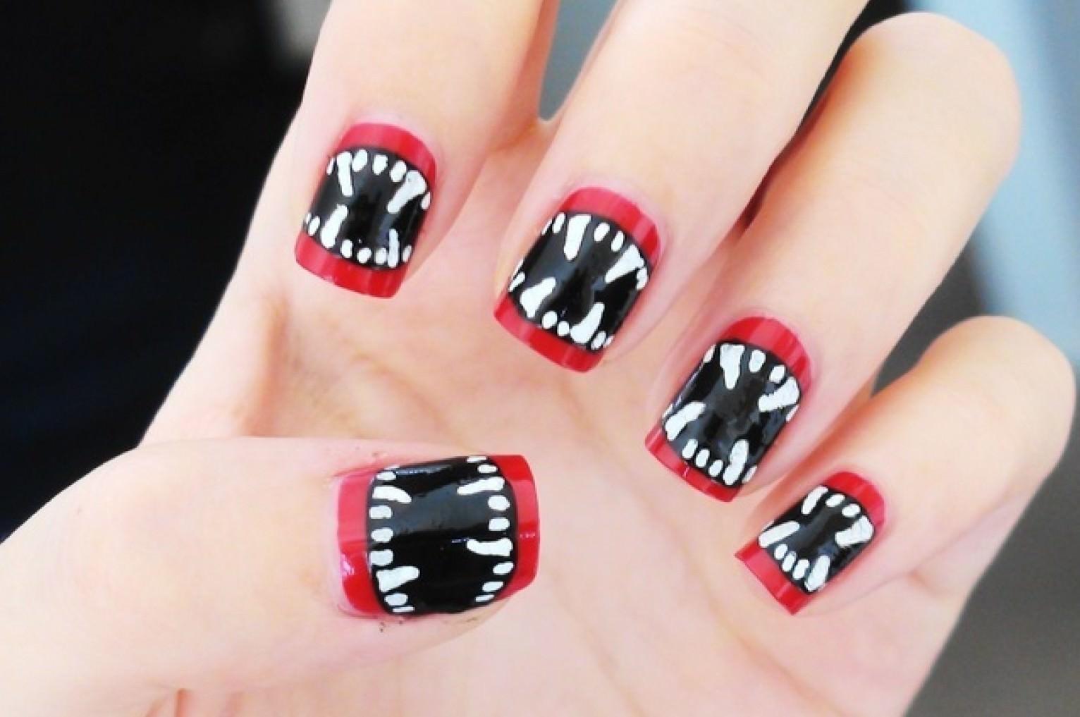Halloween Nail Designs For Freaky Fingers   Richard Magazine