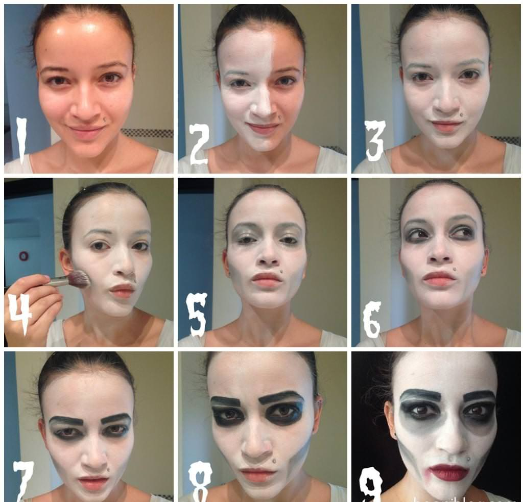 13 awesome halloween make up tutorials that takes less than an hour via studiostyle baditri Images