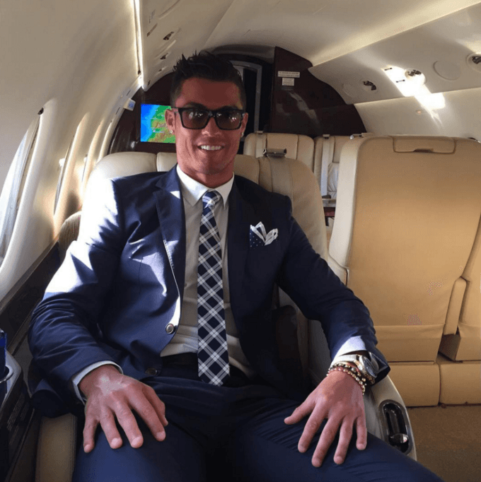 Ronaldo Just Spent $19 Million On The Most Luxurious Jet