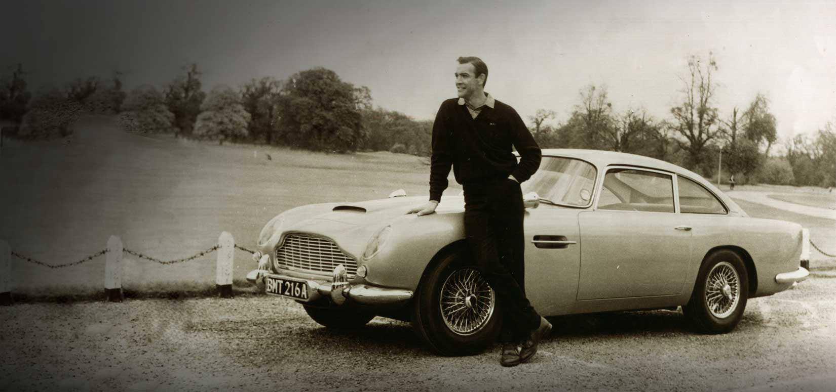 why the aston martin db5 is undeniably a james bond car