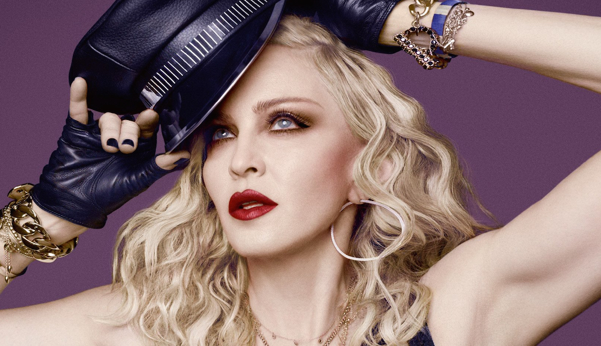 is madonna vegan