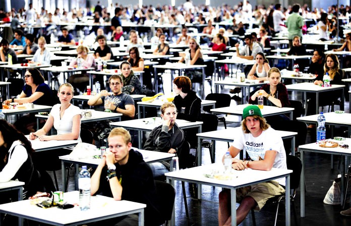 the 6 funniest things to happen during an exam