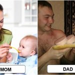 15 Funny And Crazy Differences Between Mum and Dad Parenting Techniques