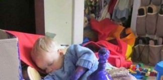 These Pictures Prove You Can't Turn Your Back On Your Kids For Even A Second