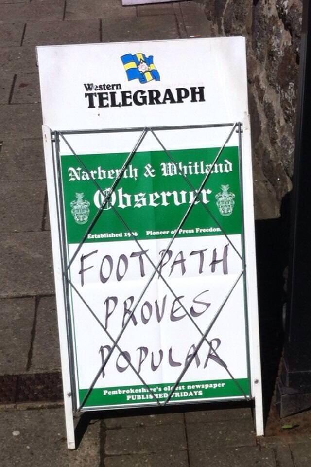 Via Western Telegraph