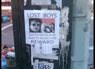 "These Unconventional ""lost"" Street Flyers Are Way Too Hilarious"