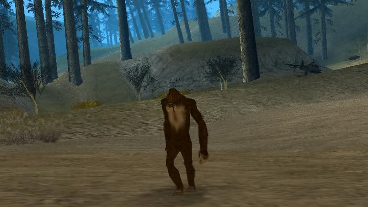 Bigfoot in gta v ?