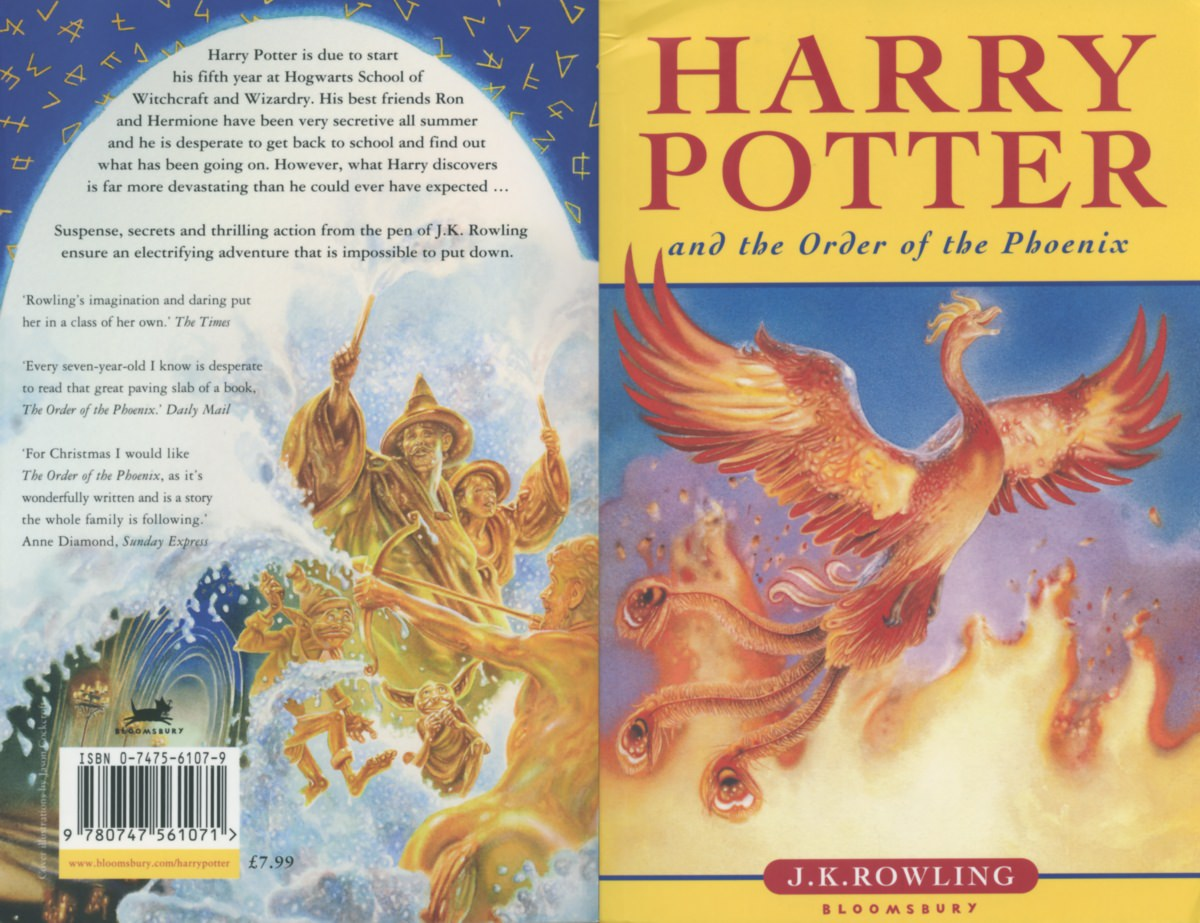 Harry Potter Book Back Cover : Facts that show just how ridiculously popular harry
