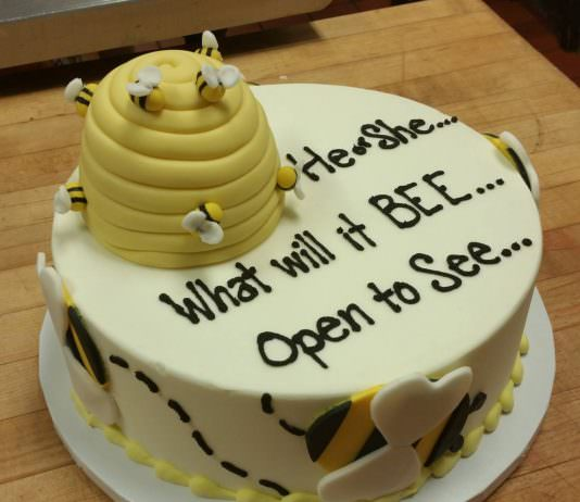 best gender reveal cake