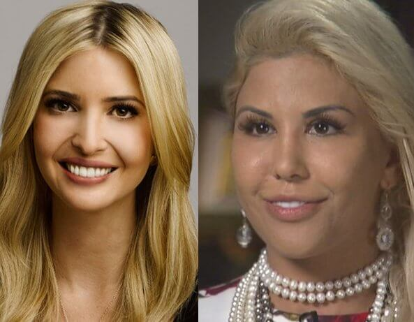 woman looks like ivanka trmp